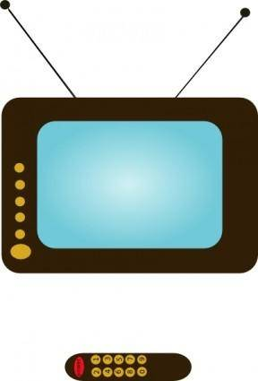 Televize clip art