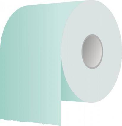 free vector Toilet Paper Roll clip art