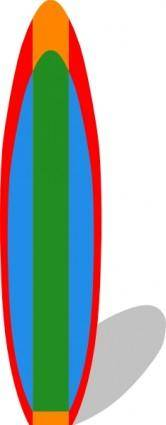 free vector Surfboard clip art