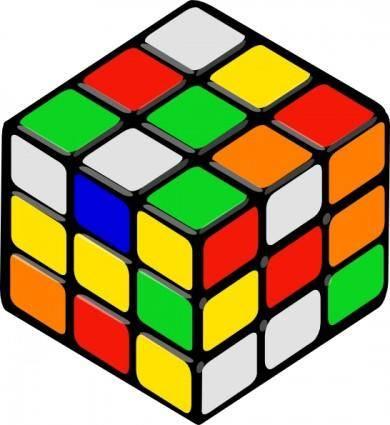 Rubik's Cube Random clip art