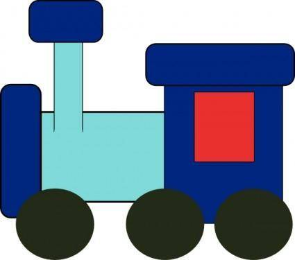 free vector Kiddy Train clip art