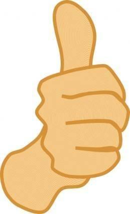 free vector Thumbs Up clip art