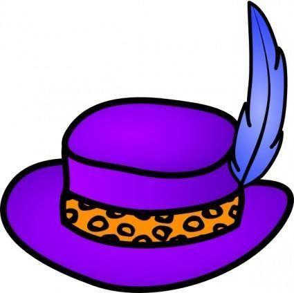 Pimp Hat clip art