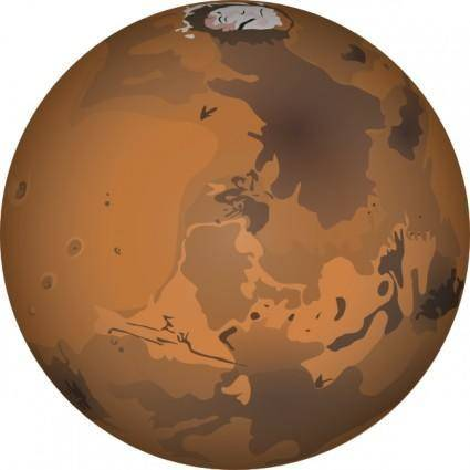 Mars clip art
