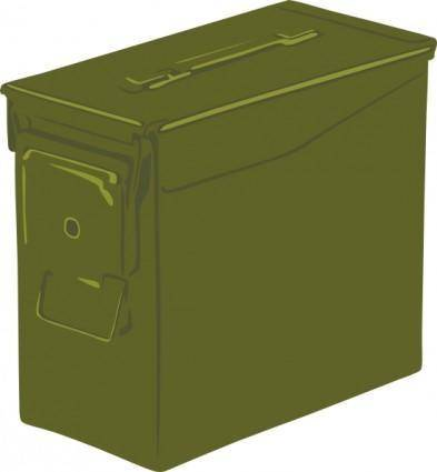 free vector Ammo Can clip art