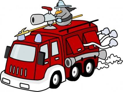 Fire Engine clip art