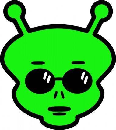 free vector Alien clip art