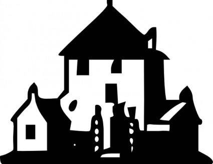 Tom Haunted House clip art