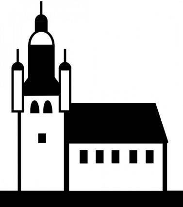 free vector Church Buildings clip art