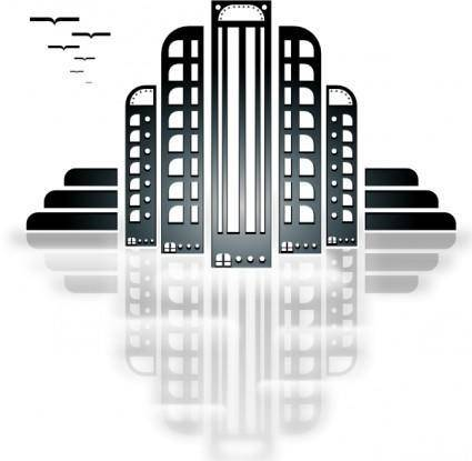 Tiothy City Art Deco clip art