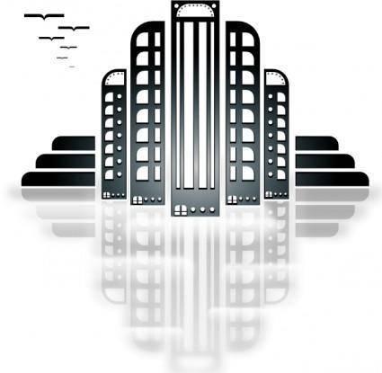 free vector Tiothy City Art Deco clip art