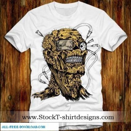 free vector Free Vector T shirt Designs 02