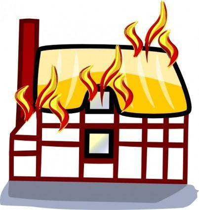 House Fire Insurance clip art
