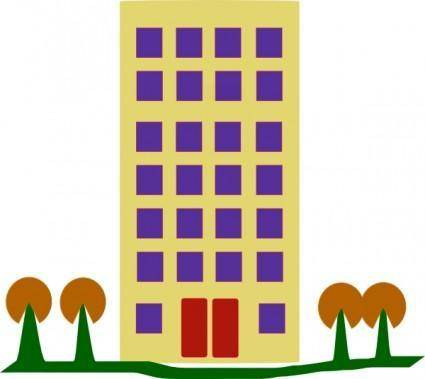 Building With Trees clip art