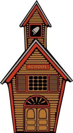 Country School clip art