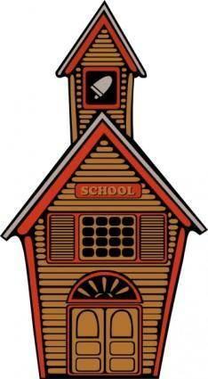 free vector Country School clip art