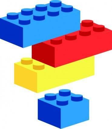 Legoblocks Brunurb clip art