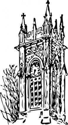free vector Clock Tower clip art