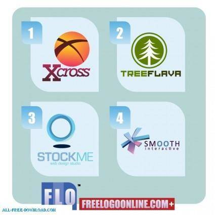 free vector Free Vector Logo templates