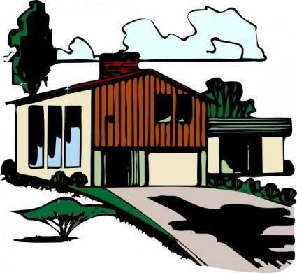 Casa Plurifamigliare clip art