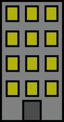 free vector Big House clip art