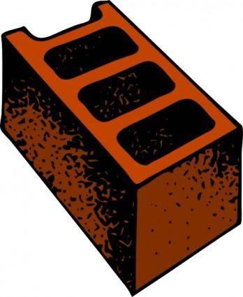 free vector Cinder Block clip art