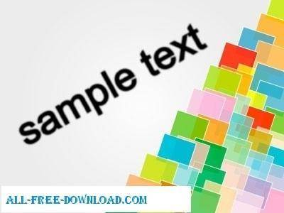free vector Sample text vector