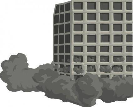 Building Demolishion clip art