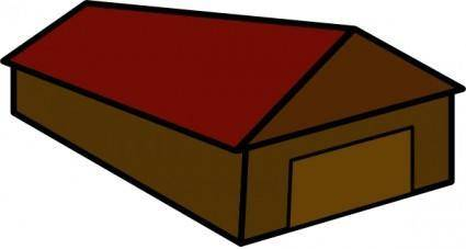 Perspectival House clip art