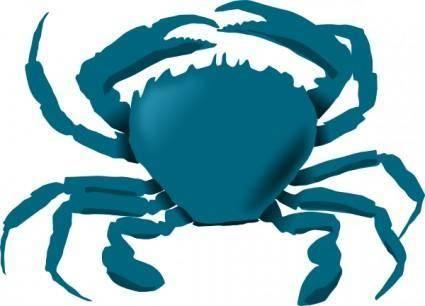 Annaleeblysse Blue Crab clip art