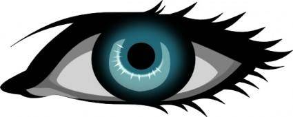 Secretlondon Blue Eye clip art