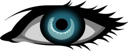 free vector Secretlondon Blue Eye clip art