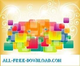 free vector Squars vector graphics