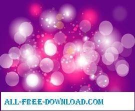 free vector Purple touch art