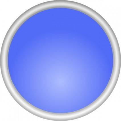 Shiny Blue Circle clip art