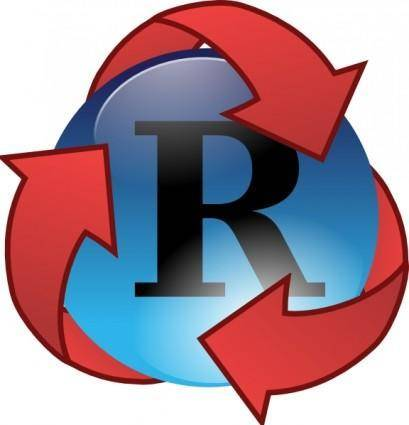 Recycle Super Hero clip art