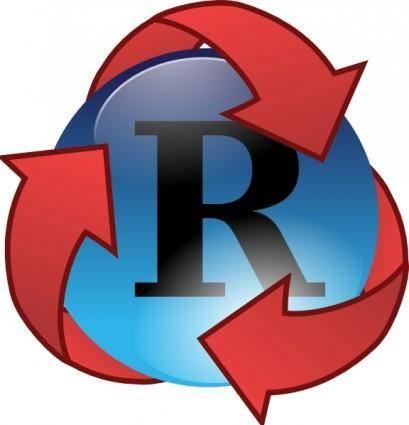 Recycle Super Hero clip art
