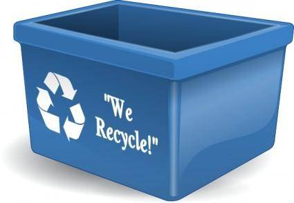 free vector Aj Recycling Bin clip art