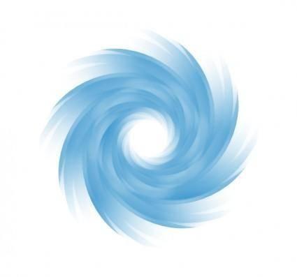Blue Vortex clip art