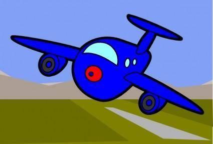 free vector Bigplane clip art