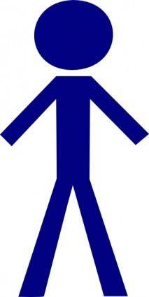 Stick Figure Male clip art