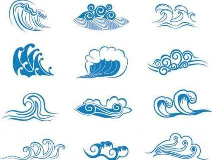 free vector Wave vector graphic 2