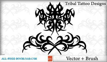 Tribal Tattoo Designs Vector Pack