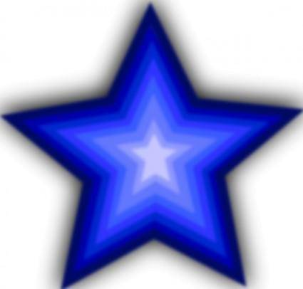 Stars Simple clip art