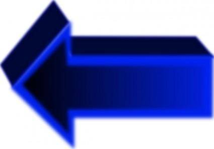 free vector Arrow Set Cube clip art