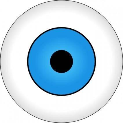 free vector Tonlima Olho Azul Blue Eye clip art