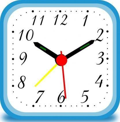 free vector Clock Alarm clip art