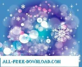 free vector Winter vector design graphic