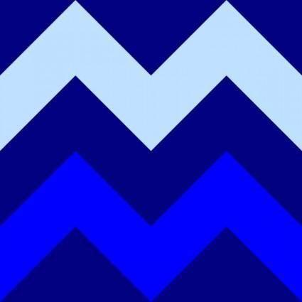 Chevrons Blue Tile clip art