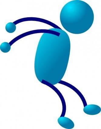 Stick Man clip art